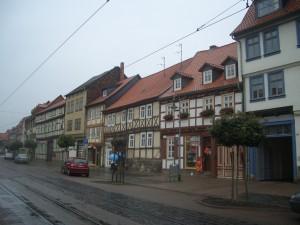 In der Halberstädter Altstadt gibt es viele schöne Gassen