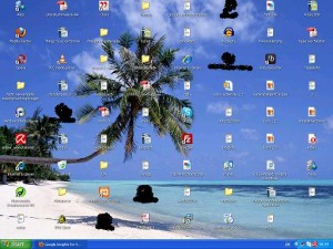 Auf meinem Windows XP Notebook ist alles mit kleinen Fensterchen zugekleistert - ob das bei Windows 7 auch der Fall sein wird?