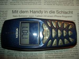 Mein schönes Nokia Handy würde ich nie gegen ein iPhone 3 GS eintauschen