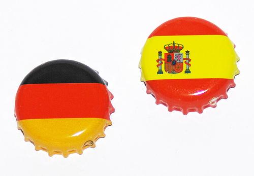 Genauso wie 2008 zieht Deutschland gegen Spanien den Kürzeren