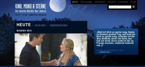 München: Veranstaltungen wie Kino, Mond und Sterne sind sehr beliebt