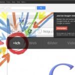 Google Plus, Facebook und Twitter als Trinität im Internet