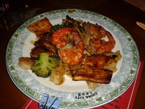 Büffet im China City