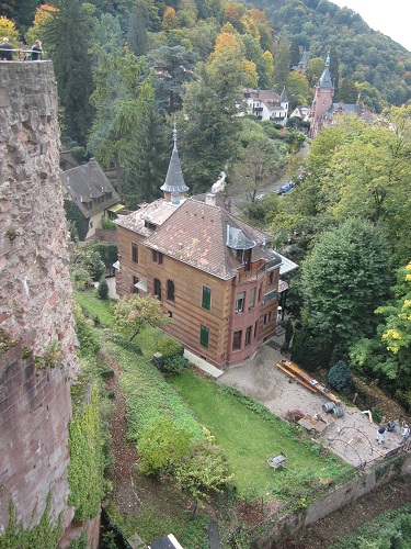 Prachtbauten in Heidelberg