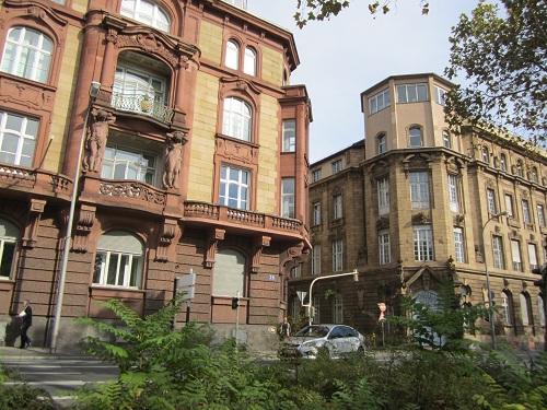prachtvolle Stadthäuser