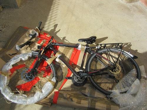 mein bergamont Trekkingbike ist im Mai auch auf den Philippinen eingetrudelt