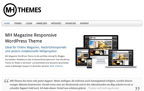 MH WordPress Themes